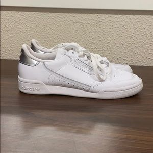 "Women's adidas Continental 80 ""White Silver"""